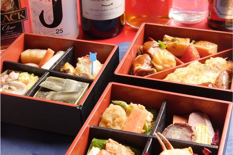 六本木金魚・料理