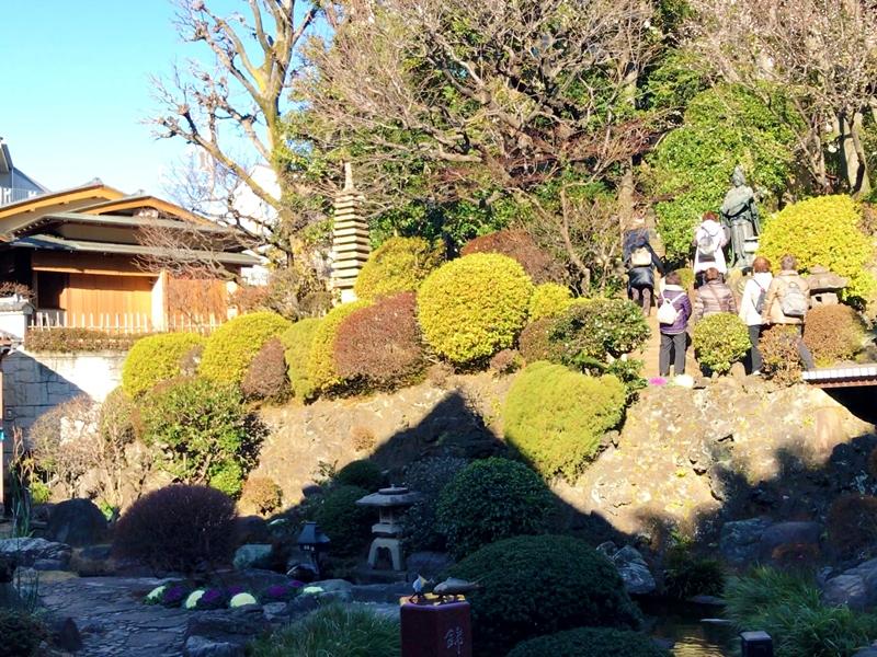 東覚寺 日本庭園