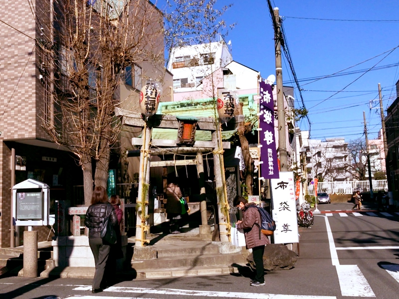 深川稲荷神社(布袋尊)